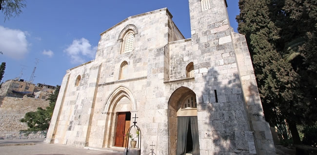 Visit St Anne's Church in Jerusalem during your Christian tour of Israel