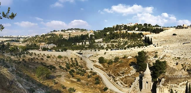 See the Mount of Olives on your Christian tours of Israel
