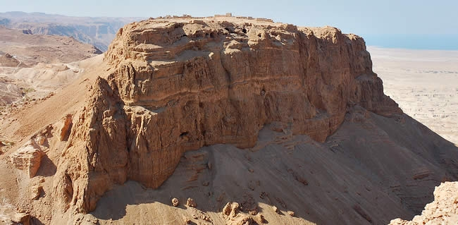 Travel to Israel and visit Masada