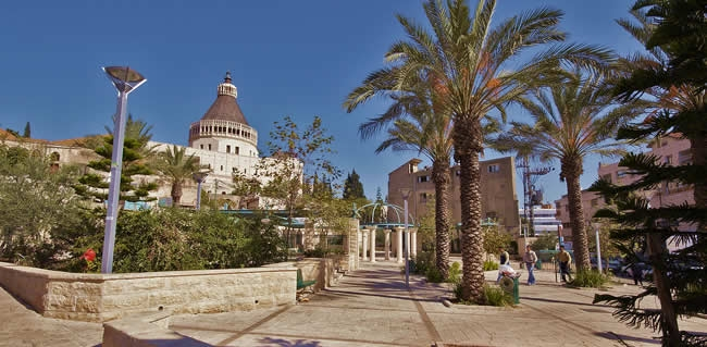 Tour Nazareth during your trip to the Holy Land