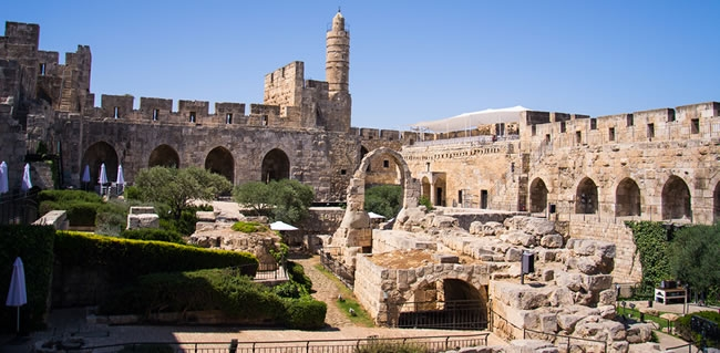 Visit the Tower of David Museum in Jerusalem during your Tour to Israel