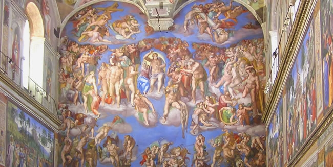 History and Things to See on a Christian Tour to Rome of the Sistine Chapel Vatican City