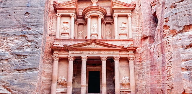 Travel to Petra from Israel during your Christian Holyland Tour
