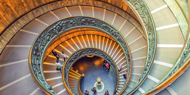 Visit The Vatican Museum on our Tour to Israel and Rome