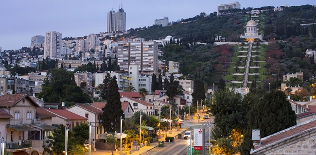 Travel to Haifa during a Holyland tour to Israel