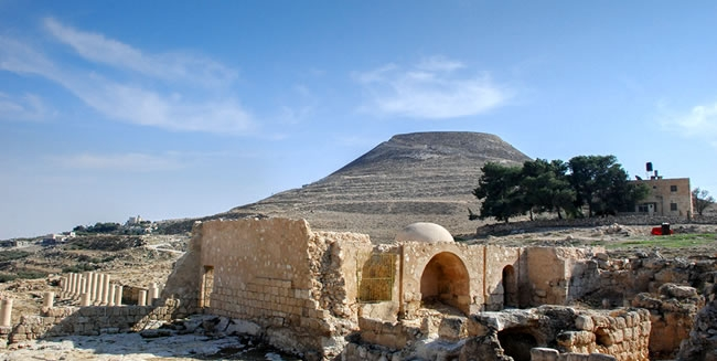 Travel to Israel and visit the site of Herodian the Royal Palace of King Herod