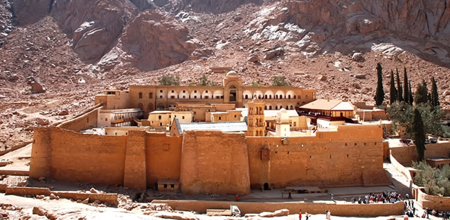 Travel to Saint Catherine's Monastery and walk the footsteps of Moses on a Christian Holyland tour