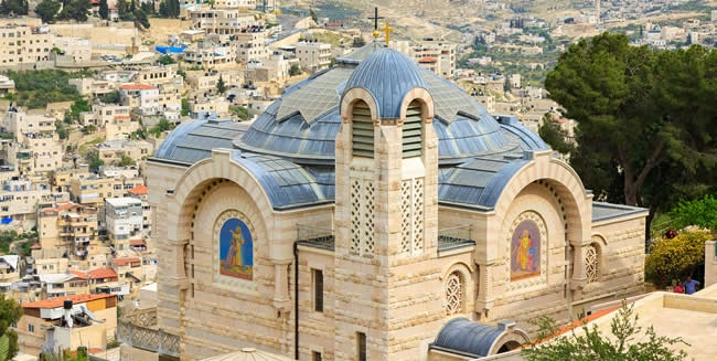 Tour the Church of St Peter in Gallicantu in Jerusalem